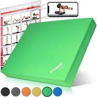 POWRX Balance Pad Pro inkl. Workout Gleichgewichts-Balance-Trainer Tolle Farben Farbe: Grün