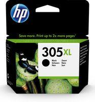 HP 305XL Schwarz Original Druckerpatrone mit hoher Reichweite, Hohe (XL-) Ausbeute, Tinte auf Pigmentbasis, 4 ml, 240 Seiten, 1 Stück(e)