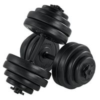 ArtSport Hantelset 30kg | Kurzhantel Set mit 2 Kurzhanteln 25 mm gerändelt, 16 Gewichte & Sternverschlüsse | Kurzhantelset Hantel