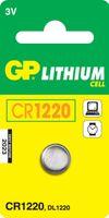 Batterie GP Lithium CR1220 / 01er Blister