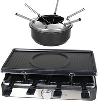 3in1 Raclette, Grill und Fondue Emerio Raclette RG 124930
