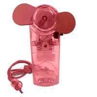 Ventilator Mini (Rot) Handventilator Miniventilator Hand Ventilator Umhängeband Lüfter