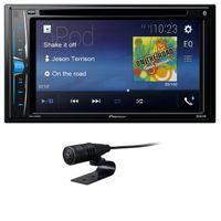 Pioneer AVH-A210BT USB MP3 DVD Moniceiver Bluetooth AUX CD 2-DIN Autoradio