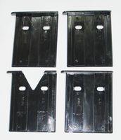 4x  Gleitplatten Führungsplatten passend für Woodster LV 60 , Scheppach HL700 , KITY PV6000  Holzspalter Oben - bis Bj 2009