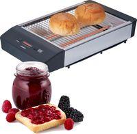 Melissa 16140136 Flachtoaster Tischröster Für leckeren Toast, knusprige Brötchen, Baguettes oder Flutes (längere Brötchen)