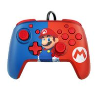 PDP Controller Faceoff Deluxe+Audio Mario für Nintendo Switch 500-134-EU-C1MR-1
