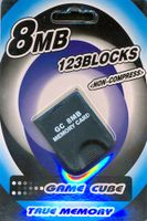 EAXUS Memory Card 8MB für Nintendo GameCube & Wii