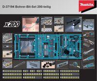 Makita Bohrer-Bit-Set 200tlg (D-37194)