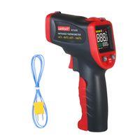 wintact -50 ¡« ¡« 850 ¡æ Infrarot-Thermometer Professionelles Industriethermometer Instrument mit Thermoelement-Hand-IR-Thermometer vom Typ K Beruehrungsloser digitaler Laserthermometer-Temperaturtester