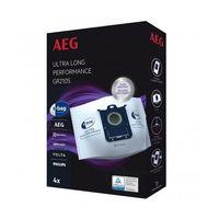 AEG GR210S S-bag Ultra Long Staubsaugerbeutel, Farbe:Weiß