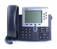 Cisco Unified IP Phone 7961G, Schwarz, Wand, base, LCD, 320 x 222 Pixel, Monochrom