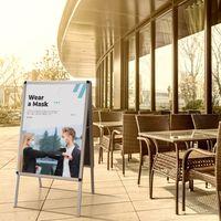 AGENDA | Kundenstopper - Plakatständer Aluminium