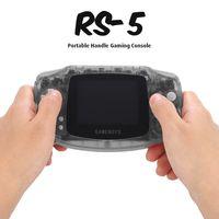 """Gamepads RS-5 Tragbarer Spielekonsole 400 Eingebaute Retro-Spiele 3,0 """"LCD-Bildschirm Geburtstagsgeschenk fuer Kinder"""