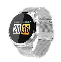 Women's Smart Watch 2019 Fitness Tracker mit Herzfrequenz-Blutdruckmessgerät für Damen und Mädchen, Silber