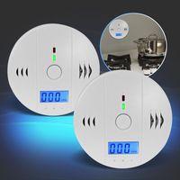 2x Kohlenmonoxid-Detektor mit 85dB Alarm, DIN EN er CO-Melder Eaxus