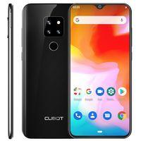 "CUBOT P30 4G Ultra Dünn Dual SIM Smartphone ohne Vertrag, 6.3"" FHD+ Display mit 4000mAh Akku, 4GB Ram+64GB Rom, 20MP+12MP+8MP + 13MP Vier Kameras, Android 9.0, Fingerabdruck+ Face ID+ Gyroskop,Schwarz"