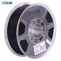 eSUN PLA + 1.75mm Schwarz 3D Drucker Filament Mais Korn Refining Material 1 KG Spool (2,2 lbs) Maßgenauigkeit +/- 0,05mm Verbrauchsmaterialien