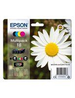 Epson Daisy Multipack 4 Farben 18 Claria Home Ink - Original - Tinte auf Pigmentbasis - Schwarz - Cyan - Magenta - Gelb - Epson - - Expression Home XP-425 - Expression Home XP-422 - Expression Home XP-415 - Expression Home... - 1 Stück(e)