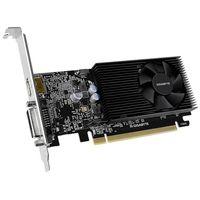 Gigabyte GV-N1030D4-2GL, GeForce GT 1030, 2 GB, GDDR4, 64 Bit, 4096 x 2160 Pixel, PCI Express x16 3.0