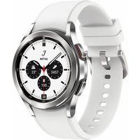 Samsung Galaxy Watch4 Classic R880 42 mm Edelstahl Bluetooth - Smartwatch - silber