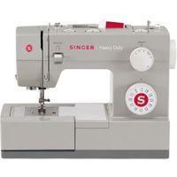 SINGER SMC4423, Edelstahl, Automatische Nähmaschine, Sägen, 1 Schritt, 5 mm, Elektro
