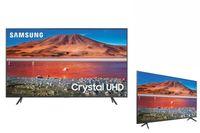 Samsung UE65TU7105KXXC, 165,1 cm (65 Zoll), 3840 x 2160 Pixel, LED, Smart-TV, WLAN, Karbon, Grau, Silber