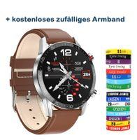 Neu L13 SmartWatch Männer EKG+PPG Wasserdicht Bluetooth Anruf Blutdruck Mode Armbänder Armband Fitness Smart Watch