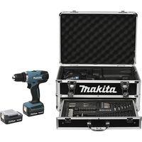 Makita DF347DWEX3, Handbohrmaschine, Ohne Schlüssel, 1 cm, 2,5 cm, 1 cm, 1 mm