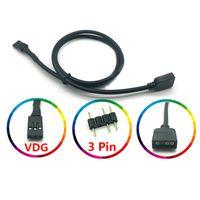 5V 3PIN RGB VDG Konvertierungsleitungskabelanschluss für GIGABYTE Motherboard