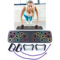 Push Up Board 9in1 Multiboard Liegestützgriffe Multitrainer Fitness Gym