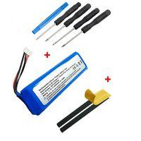 NORDMANN® Ersatz Akku Batterie für JBL Charge 2 Box Lautsprecher GSP1029102R 6200mAh Accu + Mega Werkzeug Set