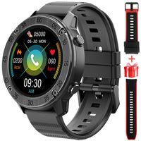 Blackview X5 Smartwatch Männer, Smart Armbanduhr Herren Fitness Tracker Smart Watch Rund Fitnessuhr Herren mit Pulsuhr Schrittzähler Damen Wearable 5ATM Wasserdicht Sportuhr zum iOS Android