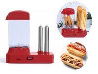 LIVOO Hot-Dog-Maschine Hot Dogs selber machen 340 Watt DOC238RC