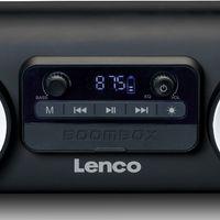 Lenco - SPR-100BK - Bluetooth-Lautsprecher - Lichteffekte - Schwarz