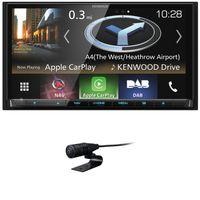 KENWOOD DNX-8180DABS 2-DIN Naviceiver Android Auto CarPlay USB Digitalradio DVD