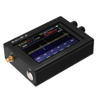 Beruehrender 3,5-Zoll-IPS-Bildschirm SDR-Empfaenger 50 kHz-200 MHz / 50 kHz-200 MHz, 400 MHz-2 GHz (optional) AM / SSB / NFM / WFM Ana-log-modulierte Malachit-Vollmodus-Radio-Hintergrundbeleuchtung