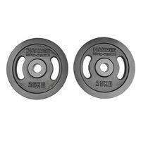 HAMMER Gewichtsscheiben Olympische  (Gusseisen) 25kg