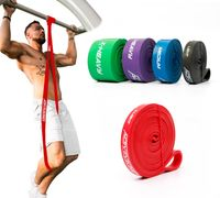 ActiveVikings® Pull-Up Fitnessband | Perfekt für Muskelaufbau und Crossfit Freeletics Calisthenics | Fitnessband Klimmzugbänder Widerstandsbänder - X Light