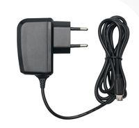 Slabo Ladegerät für Gigaset GS100 | Gigaset GS180 | Gigaset GS185 | Gigaset GS270 | Gigaset GS270 Plus | Gigaset GS370 Micro USB Handy - SCHWARZ