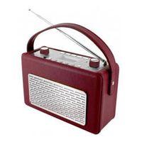 Soundmaster TR50 USB Radio, Farbe:Rot