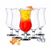 6 Stück Cocktailgläser 480ml  Longdrinkgläser Trinkglas Trinkgläser Cocktailglas