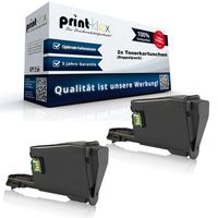 2x Kompatible Tonerkartuschen für Kyocera FS 1061 DN 1325 MFP 1T02M70NL TK1125 TK-1125 TK 1125 Schwarz Black - Office Print Serie