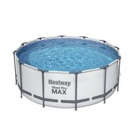 Bestway Steel Pro Max™ Frame Pool Komplett-Set, rund, 366x122cm, 56420