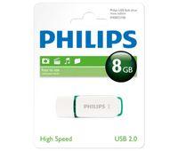 Philips FM08FD70B Snow edition - USB-Flash-Laufwerk - 8 GB - USB 2.0