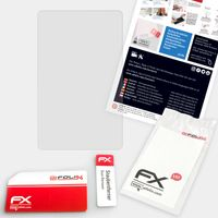atFoliX FX-Hybrid-Glass Panzerfolie kompatibel mit DeLonghi PrimaDonna Soul (ECAM610.75.MB) Glasfolie