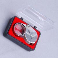 30x Fach faltbar Juwelier Uhr Lupe Vergr/ö/ßerungsglas Taschenlupe Magnifier Lesehilfe 21mm Gold