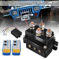 HD Elektrische Seilwinde Relais 12V 500A mit Funkfernbedienung Magnetventil 12V