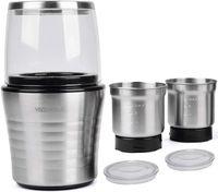 VeoHome Kaffeemühle Elektrische - Schlagmesser Kräftige - mahlen Kaffeebohnen Gewürze Kräutern Nüsse Getreide