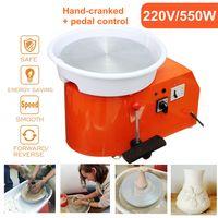 MECO 550W Töpferscheibe, Keramikmaschine 30 cm Pottery Wheel Geeignet für Töpferarbeiten in Innenräumen, Schulunterricht