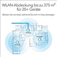 Netgear Orbi RBK23-100PES AC2200 Tri-band Mesh WLAN System bis 375m²